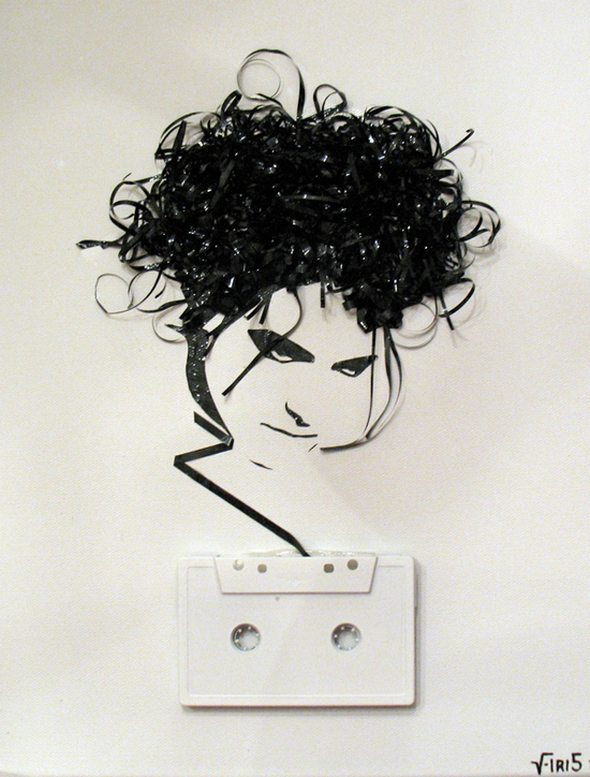 Artistic-portraits-using-cassette-tapes-16